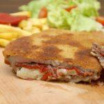 Cachopo asturiano con queso Record por @saltandoladieta