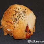Panecitos rellenos de crema de queso Record por Hablamos de comida
