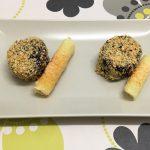 Crocanti de morcilla con miel y crujiente de queso Record por Recetas para cocinillas