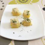 Cubos de patata con salsa de queso Record por Recetas para Cocinillas