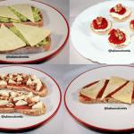 Diferentes tapas de queso Record para celebraciones @hablamosdcomida