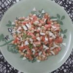 Ensalada de queso de cabra Record con legumbres @UnSuenoDulce