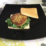 Hamburguesa vegetariana de calabacín y queso Record @RCocinillas