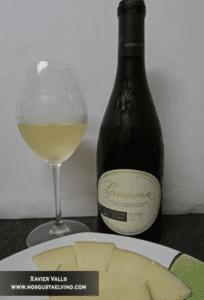 Maridaje – Gramona Sauvignon Blanc Fermentado en Barrica 2014 con Queso    Díaz-Miguel DOP @bonrotllo