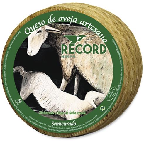 Queso Record Semicurado de Oveja Artesano