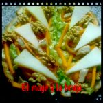 Rebanadas resaltaras con queso de cabra Record @elmagoylabruja