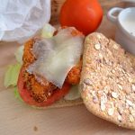 Sandwich césar con queso de cabra Record @mayteperezduran