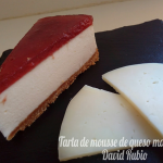 Tarta de mousse de queso manchego @LaDulcePasionD