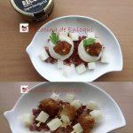 Tartaletas de crema de queso Record y pinchos de queso frito @cocinadeenloqui