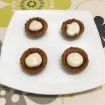 Tartaletas de crema de queso Record con miel y sobrasada por Recetas para Cocinillas
