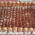 Tiramisú italiano sin huevo con Café Record @laramj1982