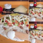 Wraps de verduras, frutas y Crema de queso Record María Lopes – Sobremesas de Domingo