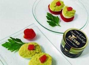 Huevos rellenos de crema de queso Record @PaZladeando