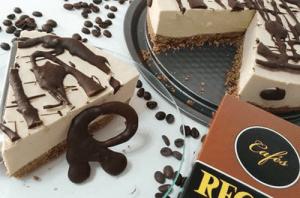 Tarta fría de mousse de café Record @PaZladeando