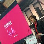 Alcaldesa Rosa Melchor Quiralte en la presentación de la campaña #EsAlcázar