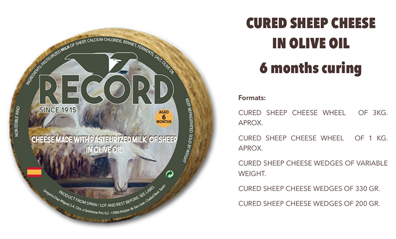 sheep cheese olive oil