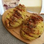 PATATE FISARMONICA con queso Record por Letizia testa i prodotii