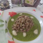 Tubettini al Lino con vellutata di zucchine semi di Chia e Crema por Passionierecensioni