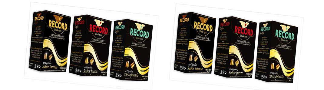 Cápsulas de Café Record