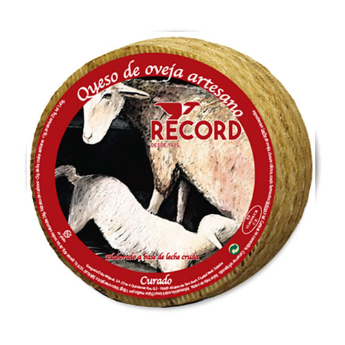 Queso Record Curado de Oveja Artesano