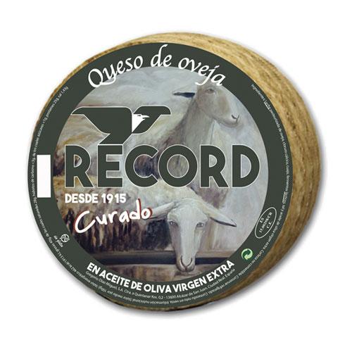 Queso Record de Oveja en Aceite de Oliva Virgen Extra
